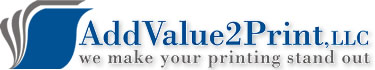 Logo: AddValue2Print